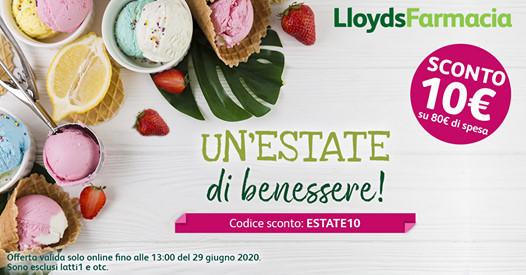 Lloyds Farmacia Buono Sconto 10 €