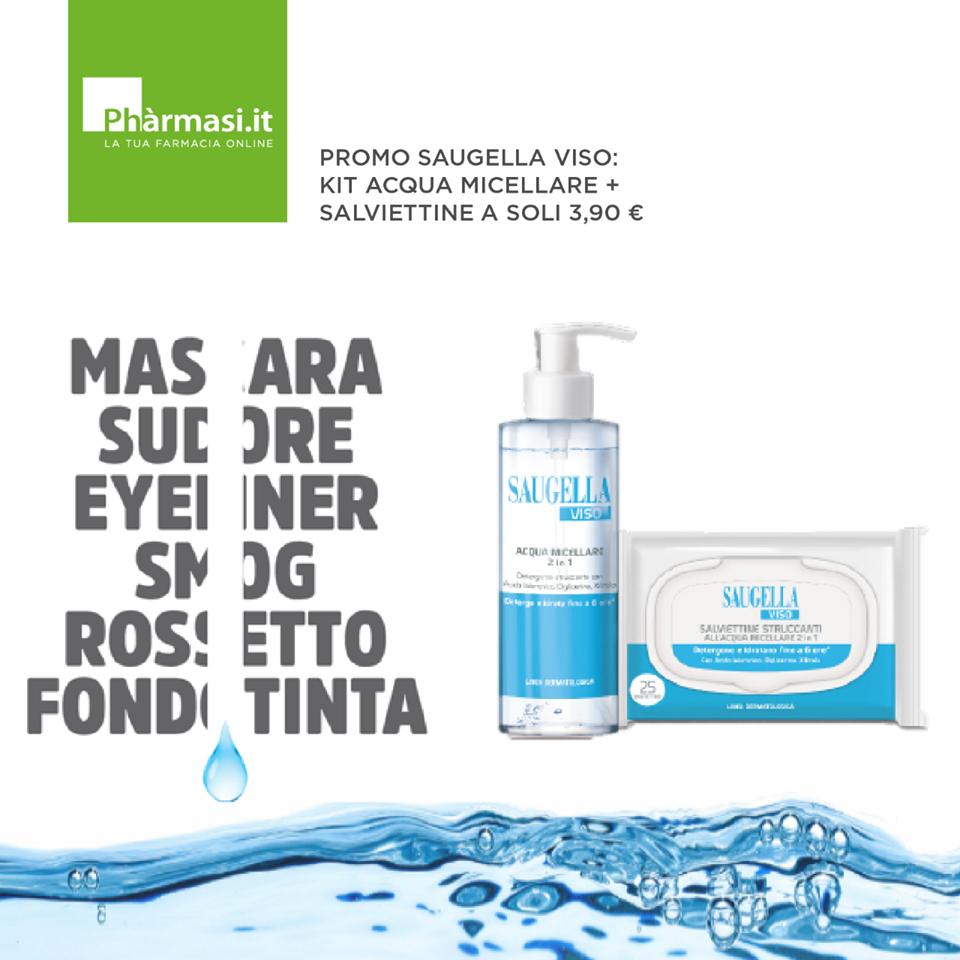 Pharmasi promozione KIT DETERSIONE SAUGELLA VISO