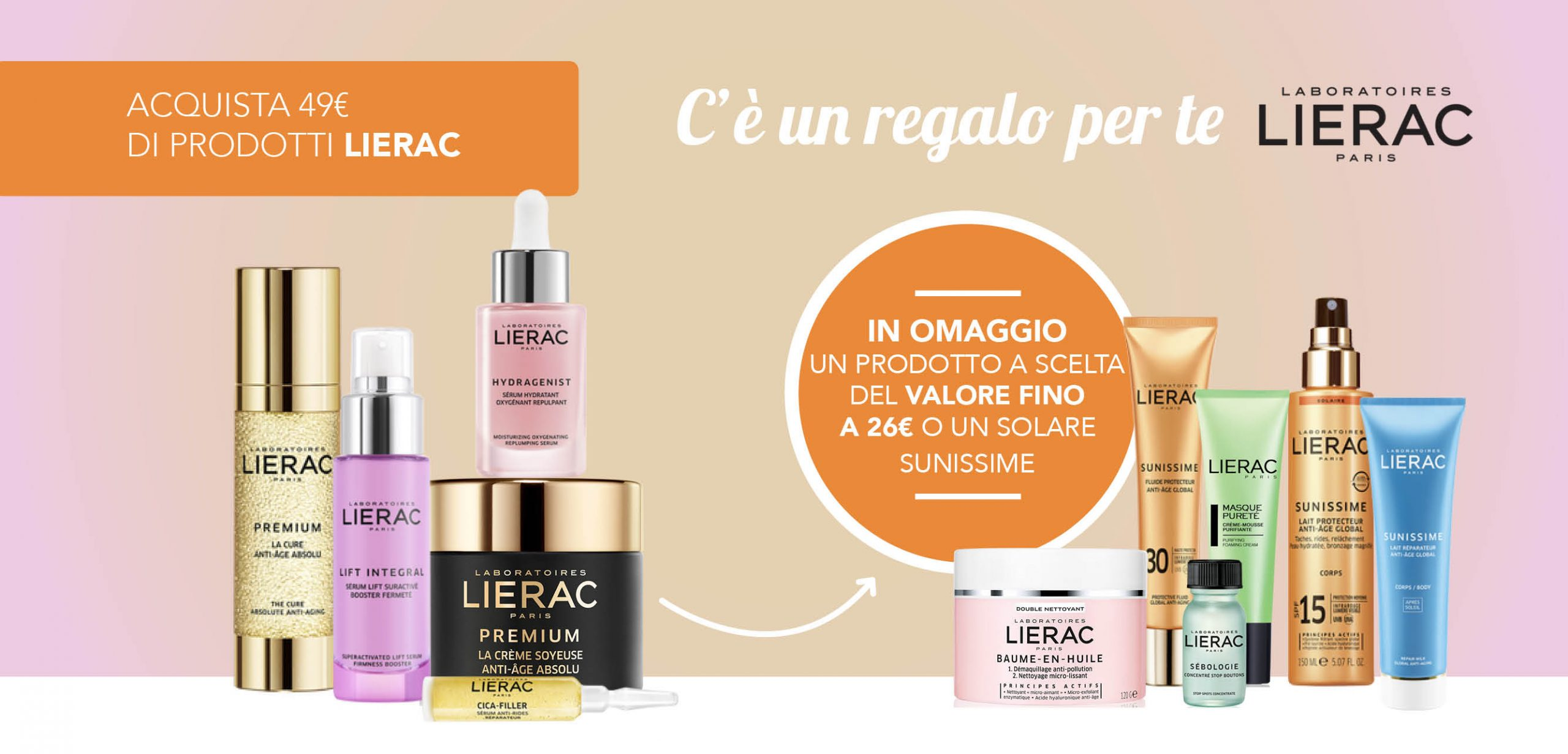 Superfarma promozione Lierac