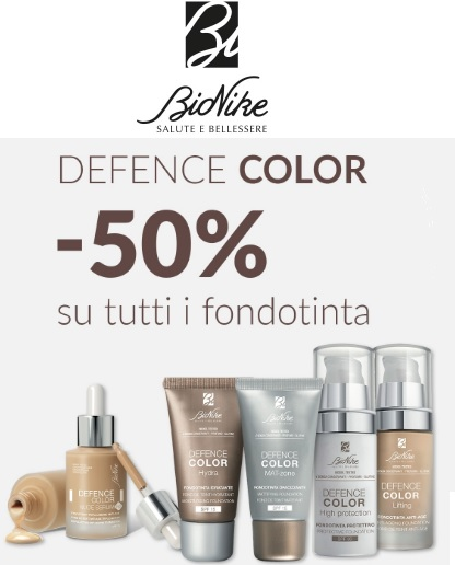 Defence Color -50% su Farmaè
